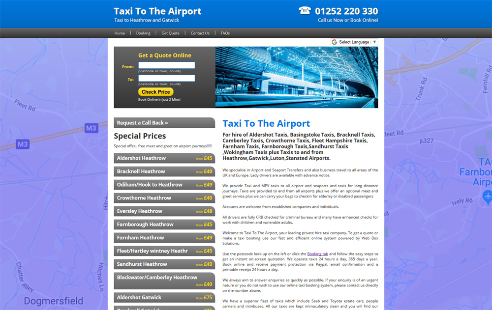 Airport Transfer Taxis
